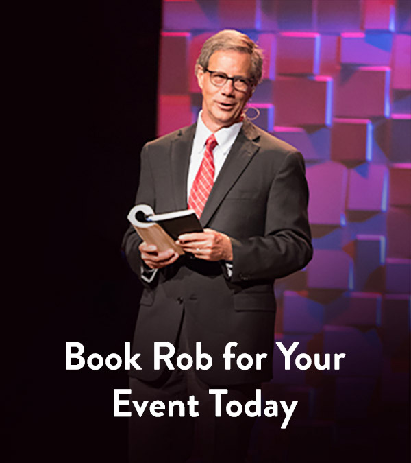 Book Rob for Your Event Today